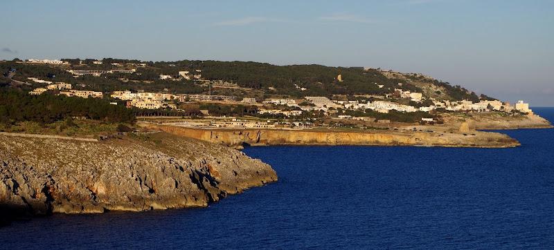 Die Küste bei Santa Cesarea Terme (Apulien, Italien)