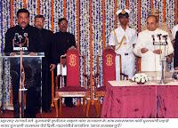 मुख्यमंत्री पृथ्वीराज चव्हाण यांचा शपथविधी, दि. 11 नोव्हेंबर 2010