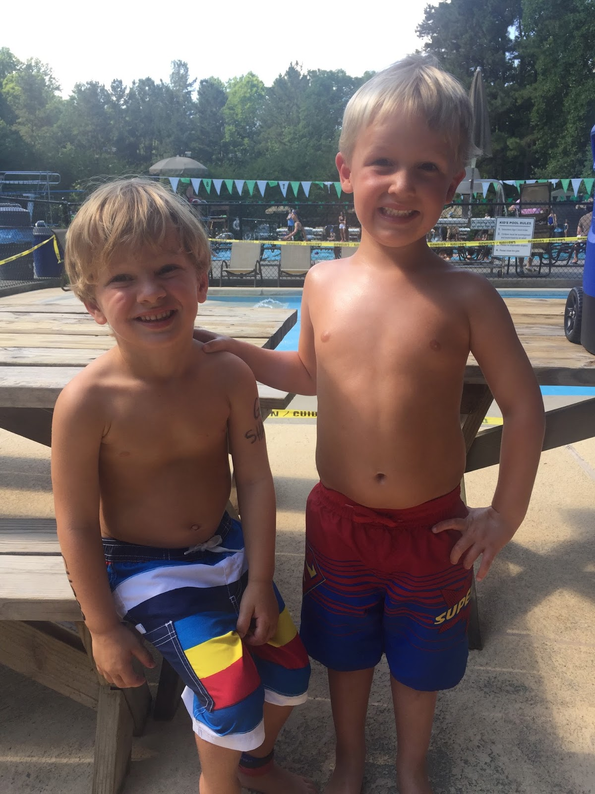 The Williamson Way Swim Team