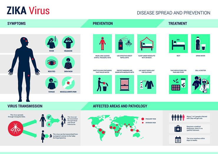 InfoGraphic Mengenal Virus Zika