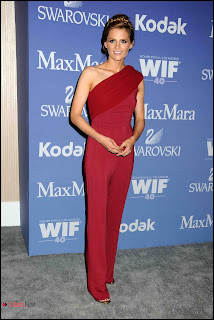 Stana Katic Pictures in Jumpsuit at Women In Film's 2013 Crystal Lucy Awards in Beverly Hills 0007