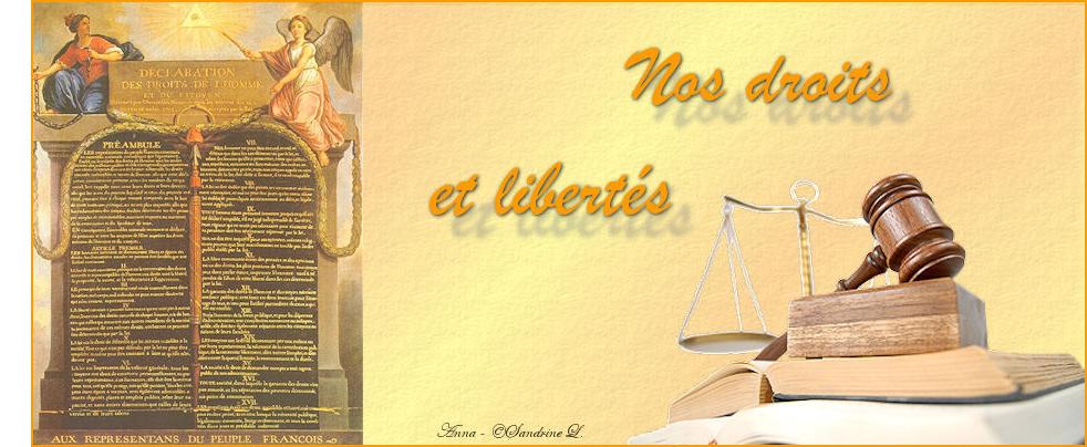 Nos Droits et Libertés