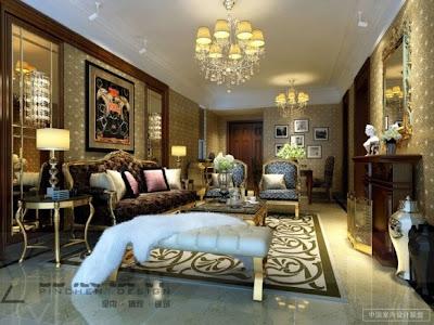 decoración de salón