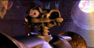 Sir Daniel Fortesque au meilleur de sa forme dans Medieivl sur Playstation