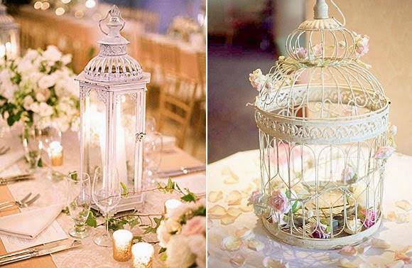 Centros de mesa vintage con jaulas parte 1 - Decoracion para bodas vintage ...