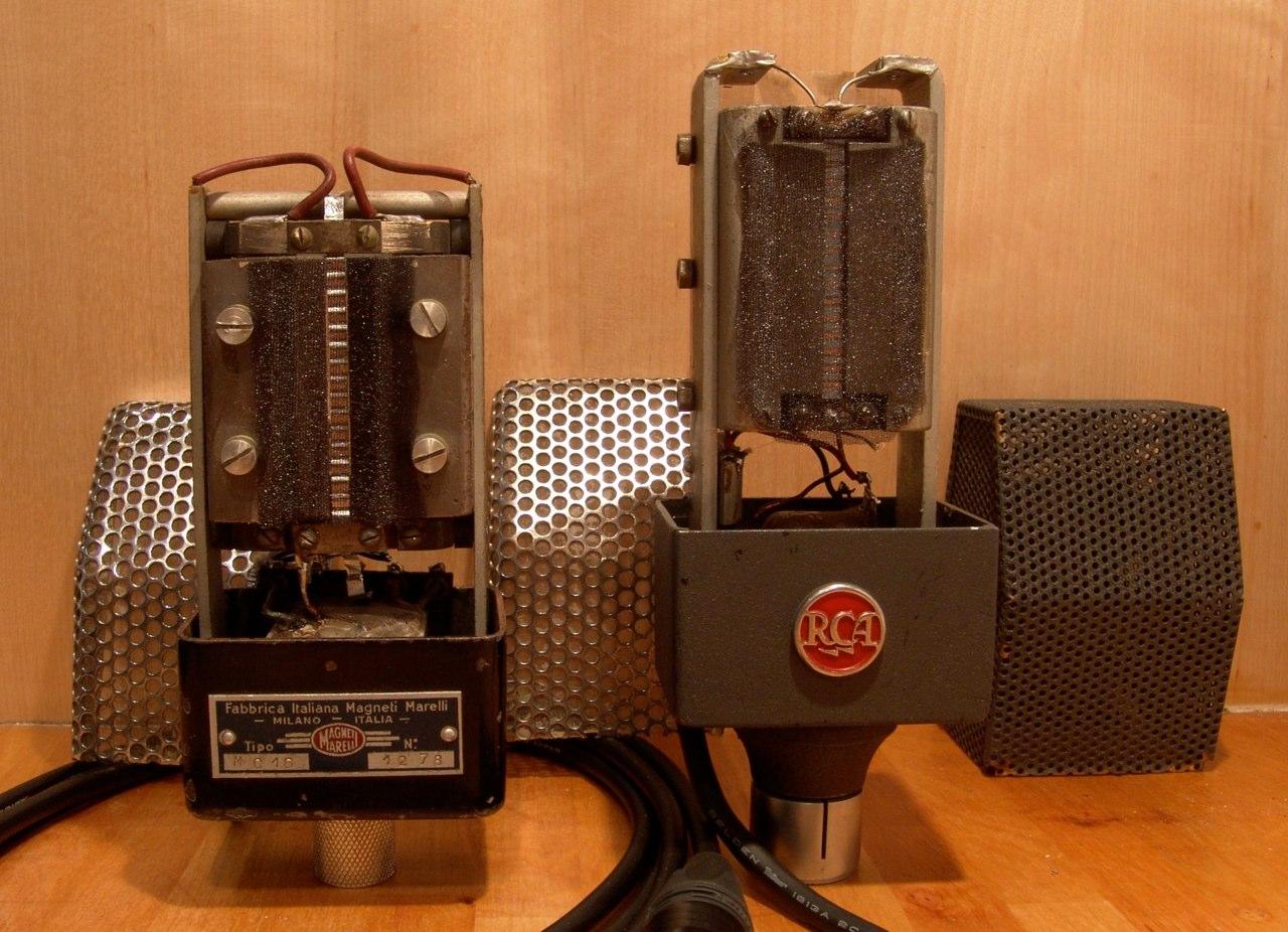 tipos de microfone de fita