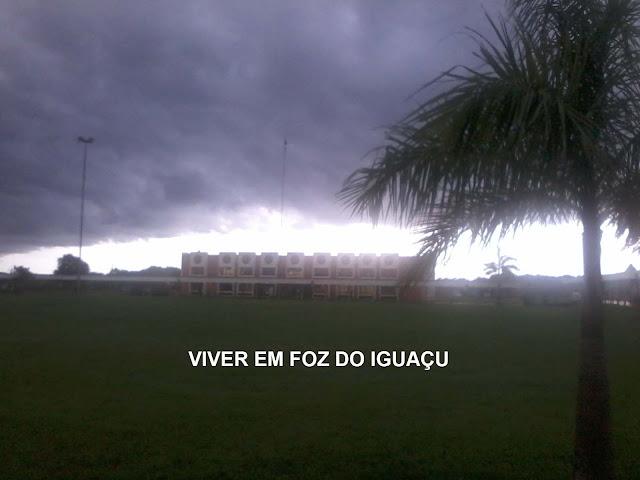Tempo e Temperatura em Foz do iguaçu: Tornado passa a 150 km de Foz