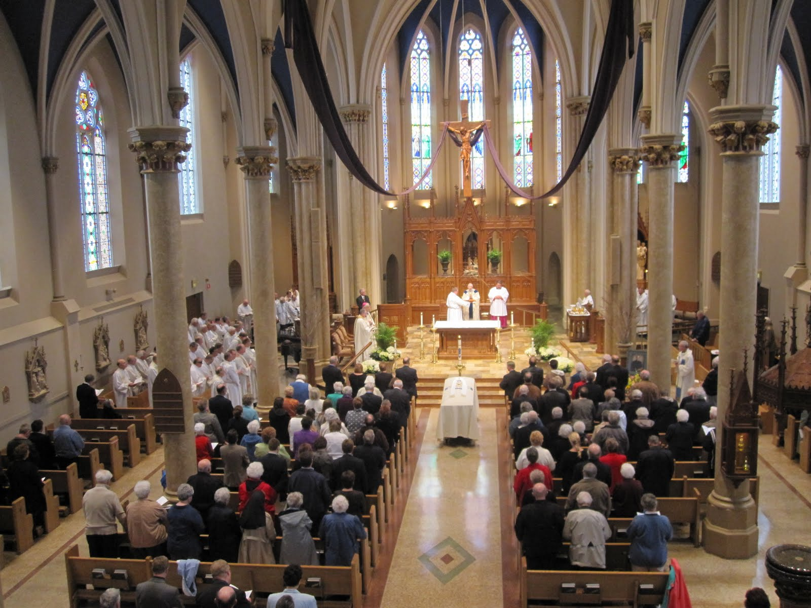 ST. MARY'S MUSIC MINISTRY: FUNERAL MASS FOR FR. BEN RINGHOLZ