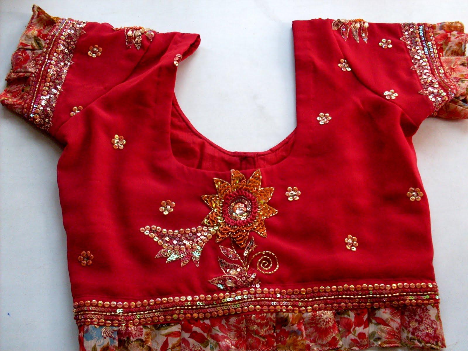 Indian Ladies Blouse Designs 107