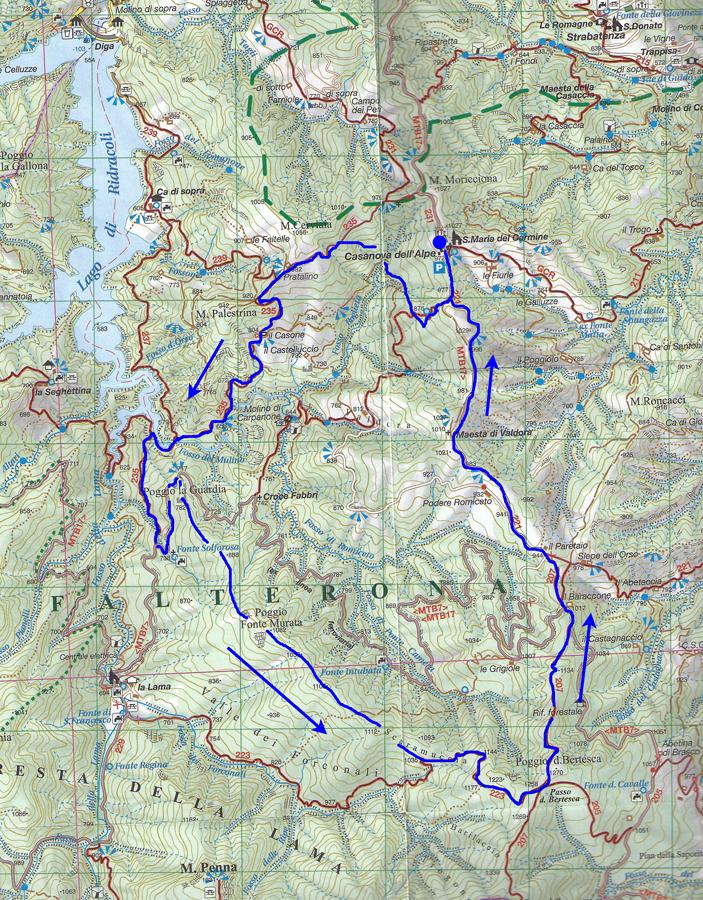Escursionismo a 360°: Poggio Fonte Murata (EE)