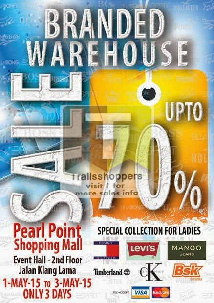 pearl point branded warehouse sale