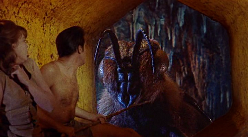 Ray Harryhausen's Giant Bee in Mysterious Island