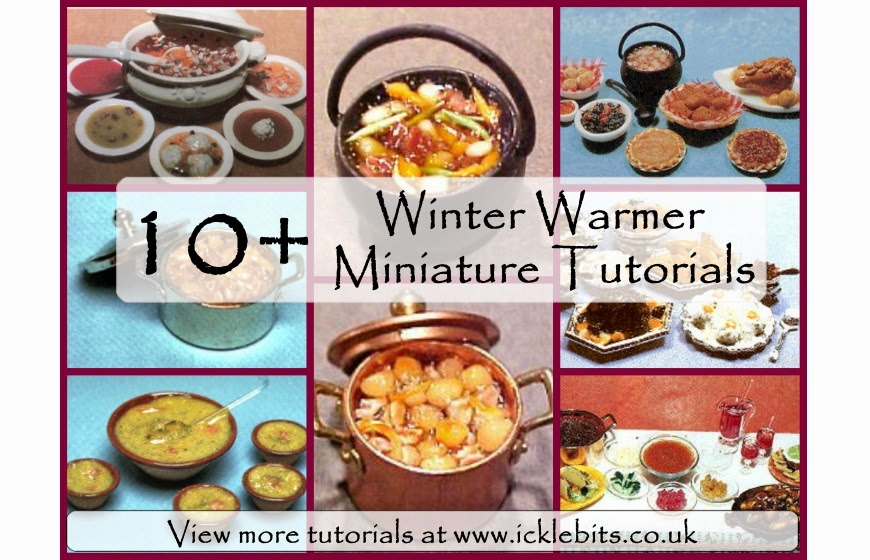 Dolls House Miniature Winter Warmer Tutorials