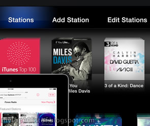 Top 10 Amazing Features of Apple iTunes Radio preview