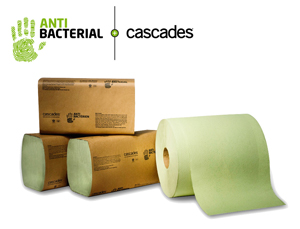 paper towels, green paper towels, antibacterial paper towels