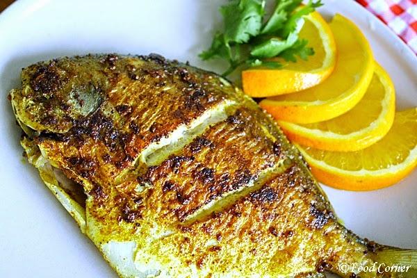 Pan Fried Pomfret Fish