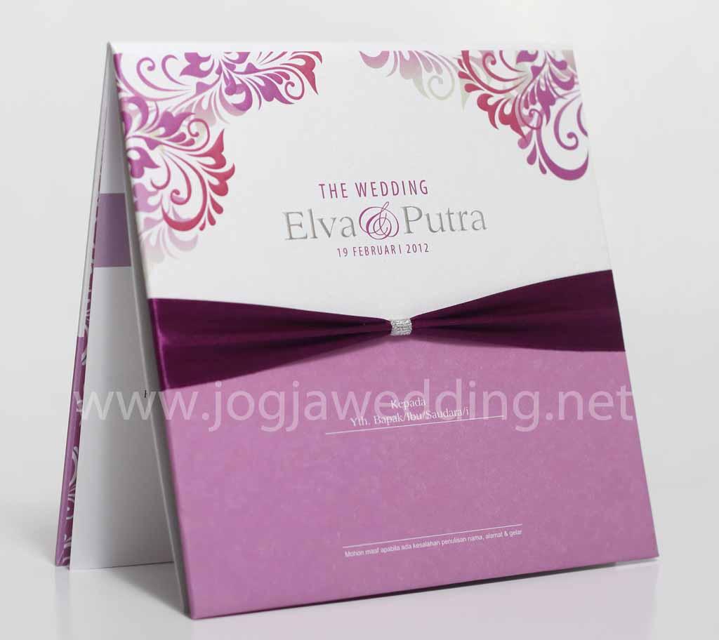 menambah kemeriahan dan keindahan undangan nikah Elva danPutra ini