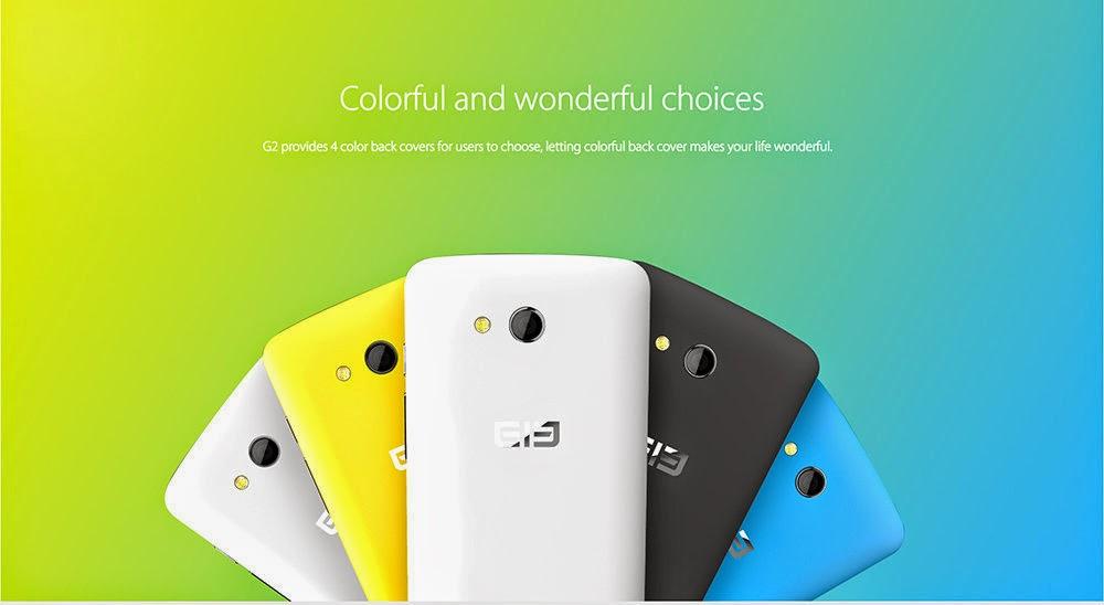 Elephone G2, Spesifikasi HP Multi Sistem Operasi Harga 1 Juta