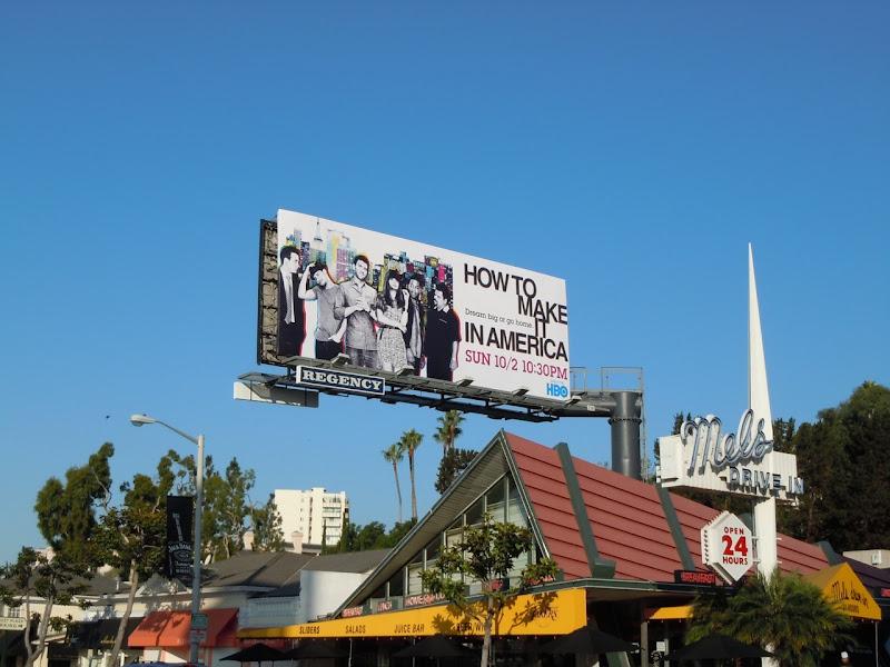 How to make it in America season 2 billboard