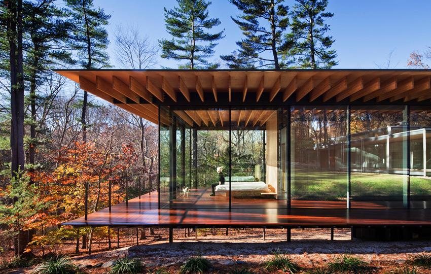Beautiful Abodes: Kengo Kumas Glass/Wood House