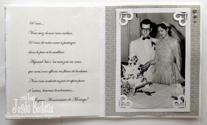 Super Harry,ou le fabuleux monde de Josée: 60 ans de mariage LH39