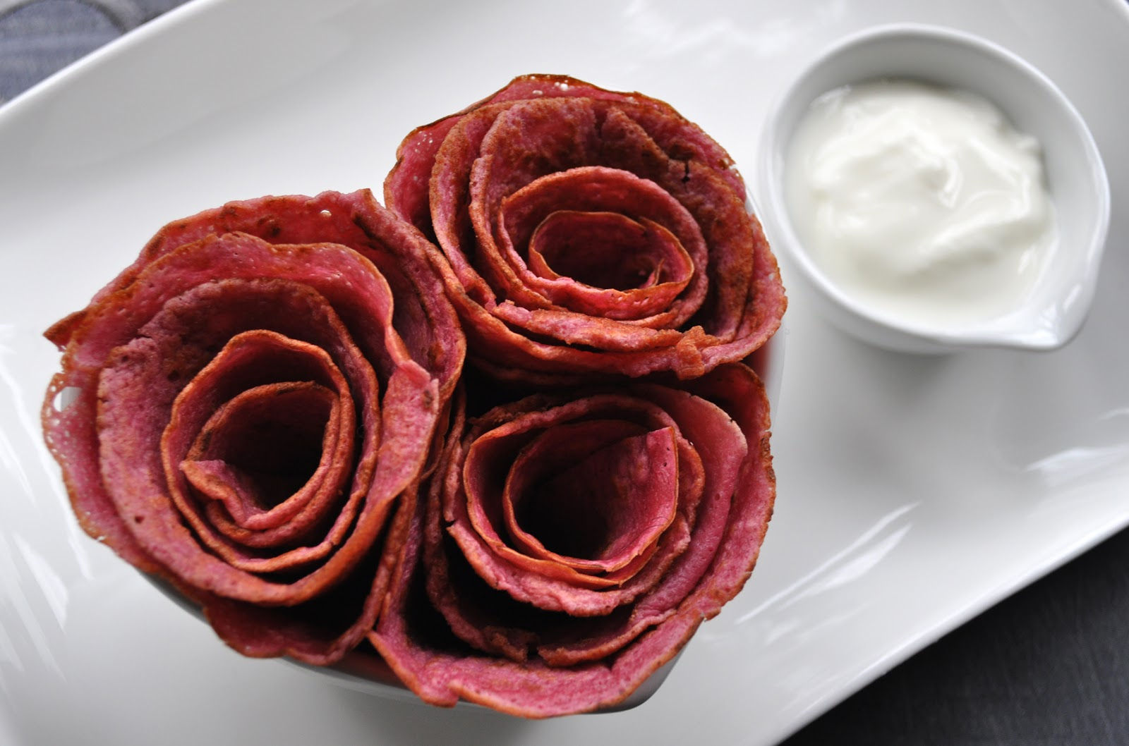 like my idea how to make pancake roses