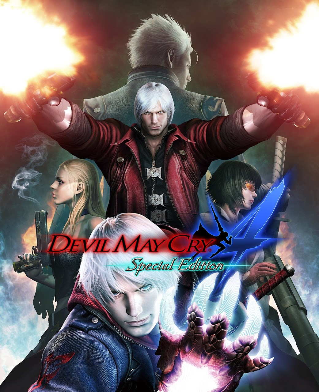 Devil May Cry 4 Special Edition ESPAÑOL PC Full Cover Caratula