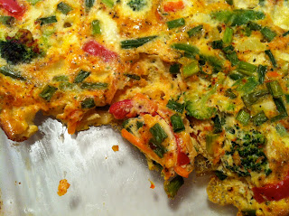 Mutritious Nuffins: Nourishing Vegetable Egg Casserole
