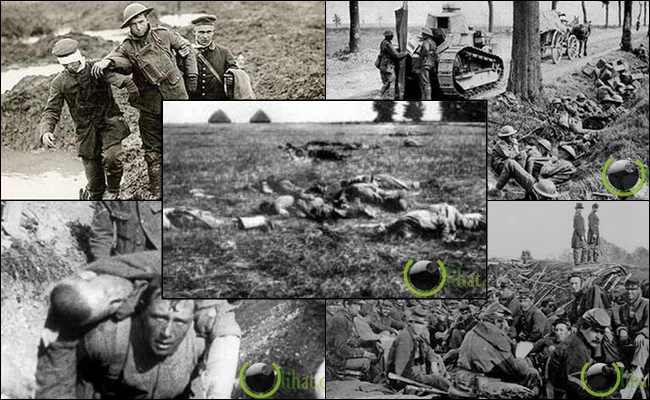 10 Pertempuran Mengerikan di Perang Dunia ke 1