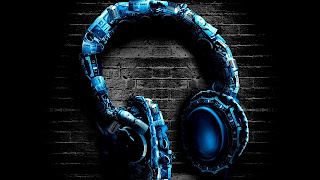 Music Headphone background for desktop