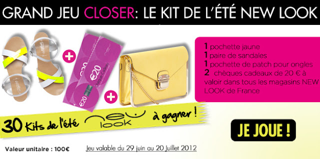 Grand Jeu Closer: le Kit de l'été New Look
