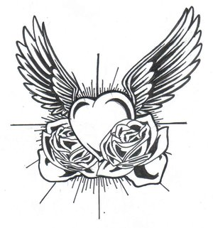 simple heart tattoo designs