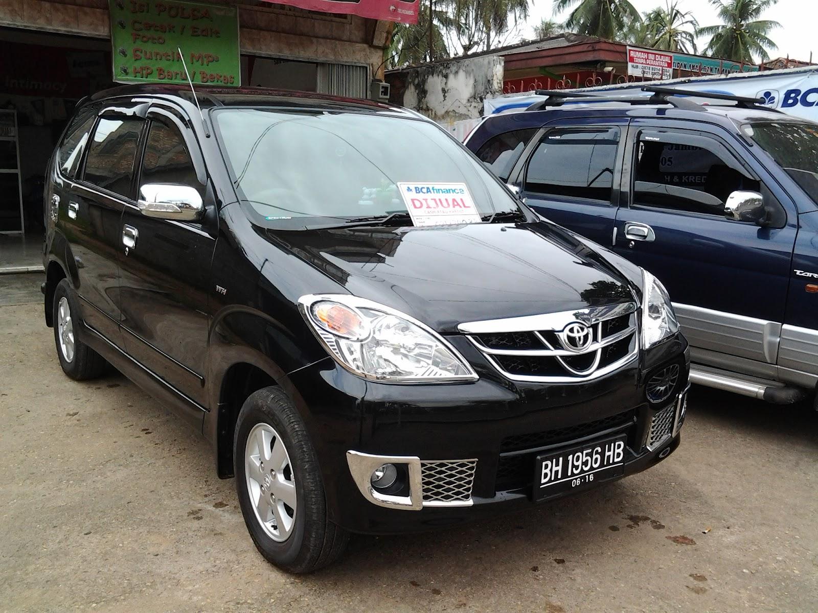 Mobil Bekas Jambi New Avanza G Facelift 2011 Like New