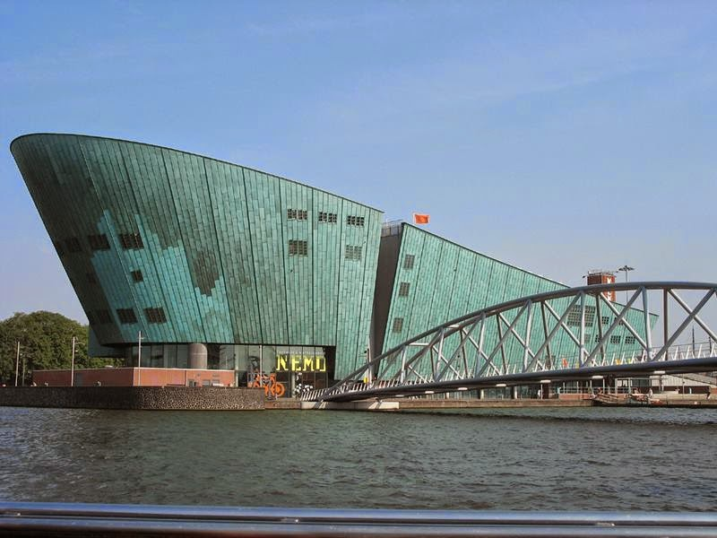 The NEMO, Science Museum, the New Metropolis (NEMO) museum of science and technology, Netherlands.