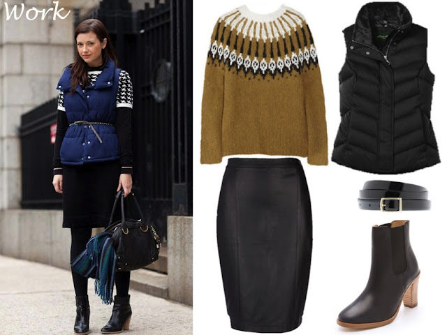 puffy vest street style
