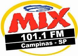 ouvir a Rádio Mix FM 101,1 Campinas SP