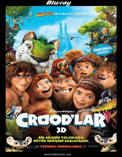 Crood'lar: The Croods (2013) afis