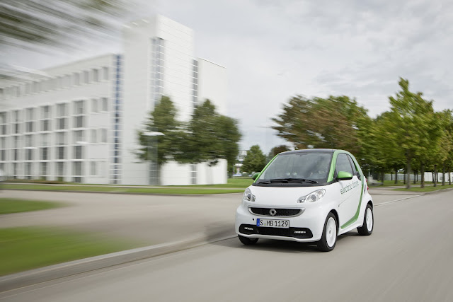 All New 2011/2012/2013 Mercedes-Benz smart For Two Electric Drive Zero Emission