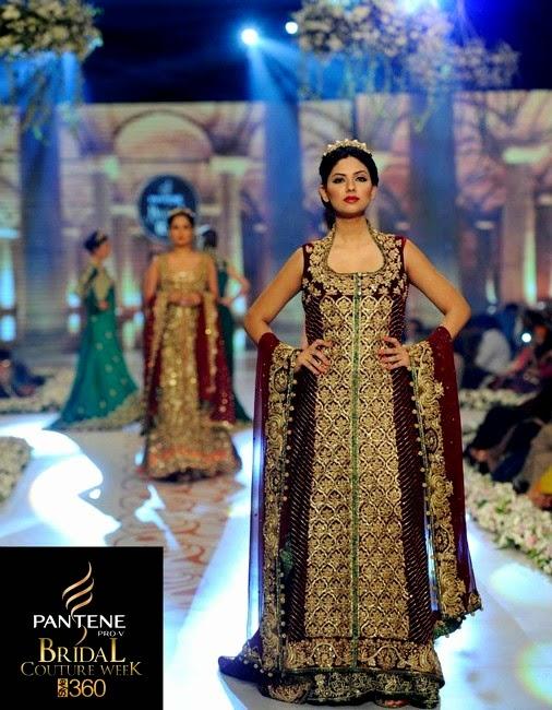 Tabassum Mughal Bridal Collection At PBCW 2014