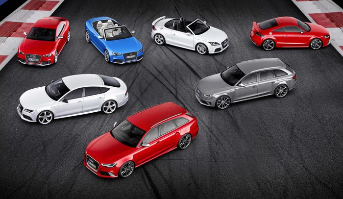 Gama RS de Audi: Máxima Deportividad