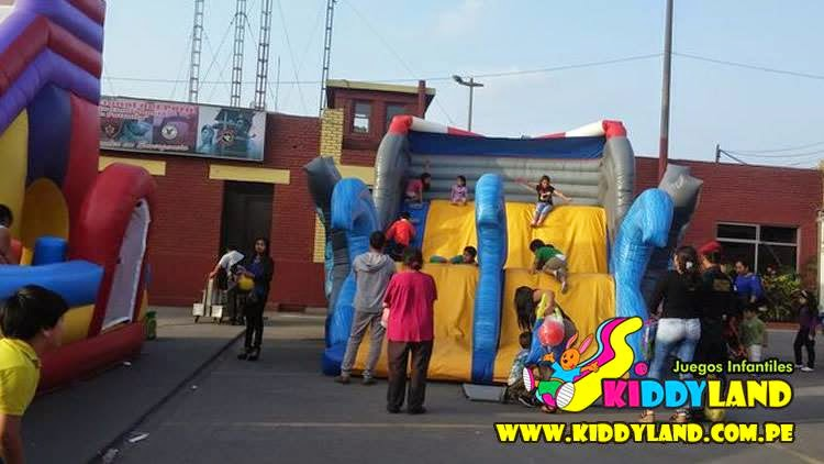 alquiler inflables niños lima peru
