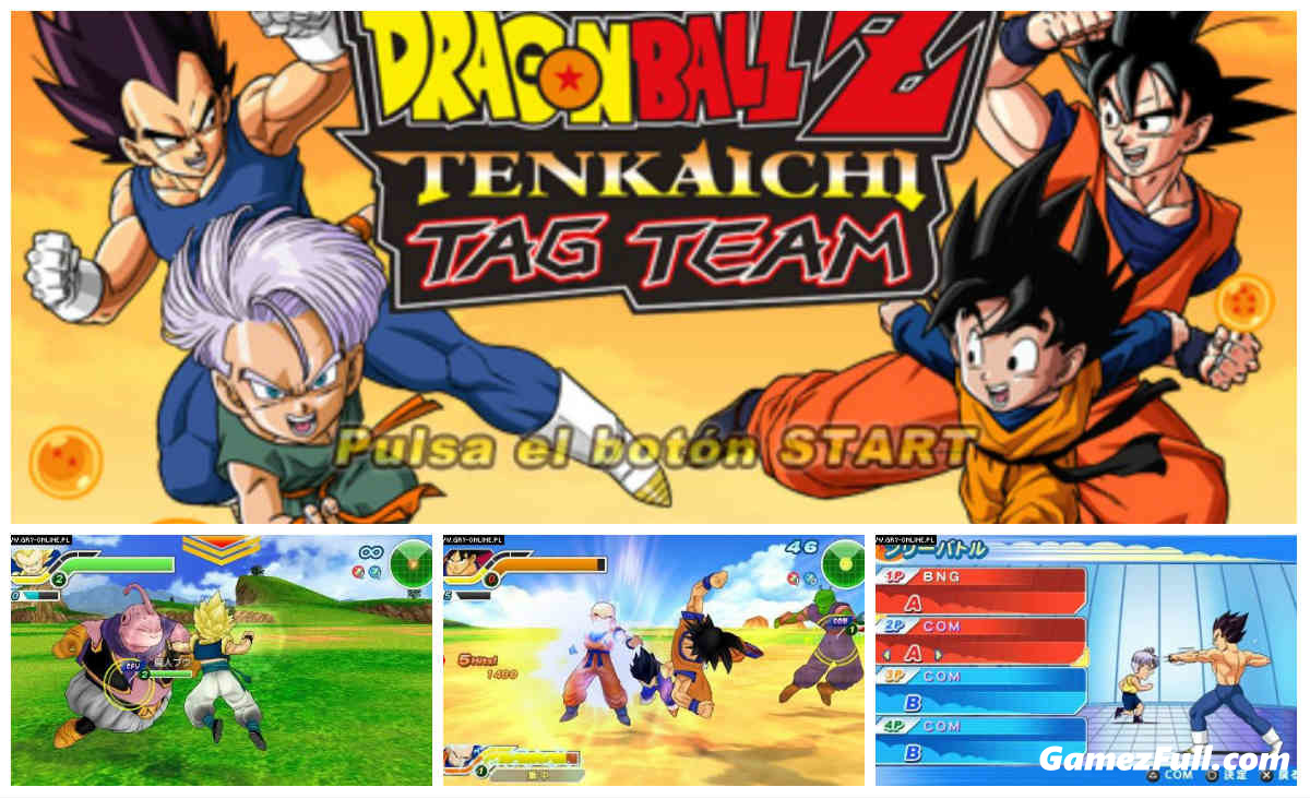 Dragon Ball Z Tenkaichi Tag Team [PSP] [Español -ISO] [MEGA]