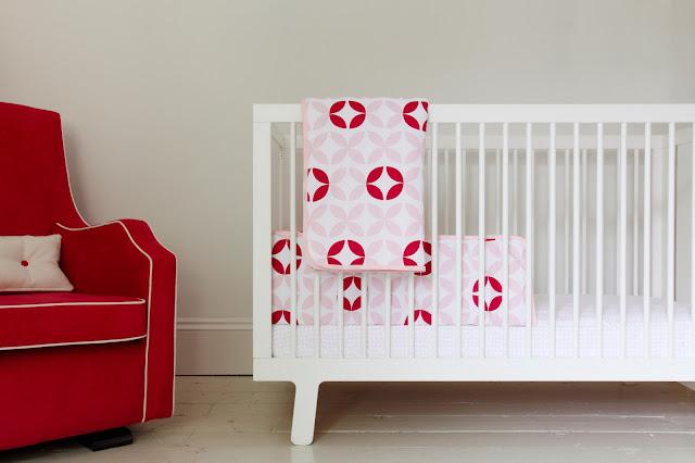 Olli Ella Nursery Bedding   Girls Nursery Bedding   Posey Cot/Cot Set