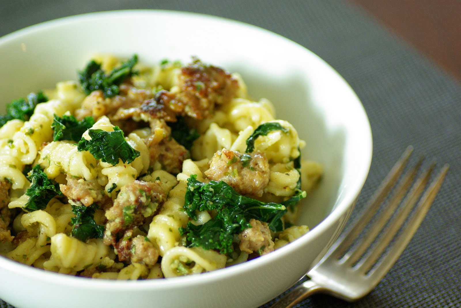... kale rigatoni with sausage and kale chickpea sausage kale pasta