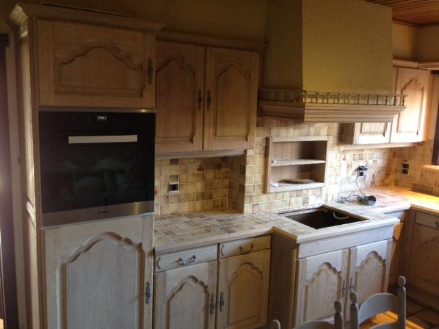 Eiken Keuken Renovatie : Renovatie eiken keuken te Jabbeke Renovatie van eiken