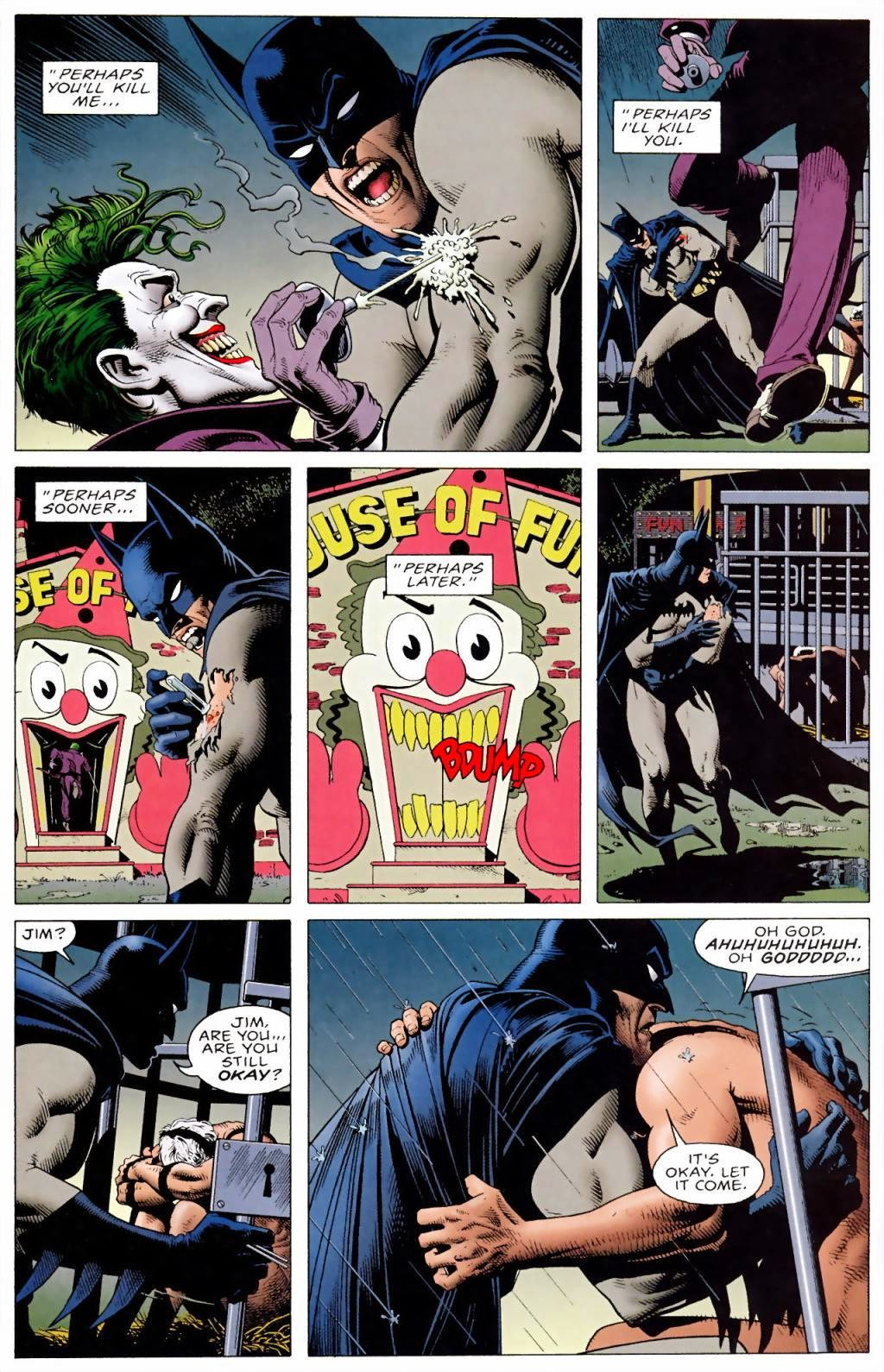 "Sample panel from ""The Killing Joke"""