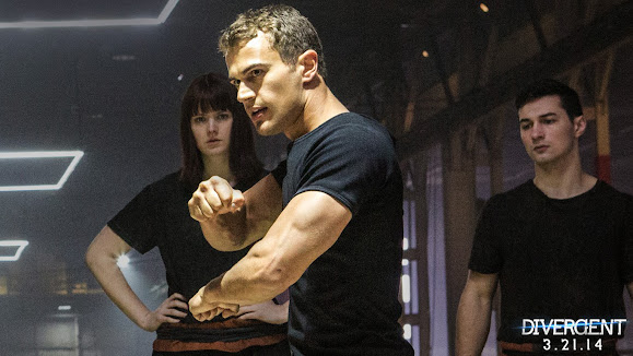 theo james as four divergent 2014 movie