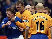 Duncan Ferguson, Stefan Freund, Everton