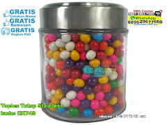 Toples Tutup Stainless