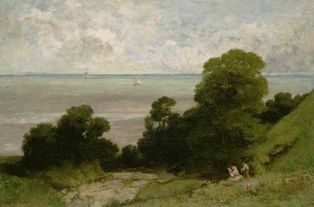 gustave courbet, realism,landscape
